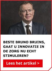 Lees ook: Beste Bruno Bruins, gaat u innovatie in de zorg nu echt stimuleren?
