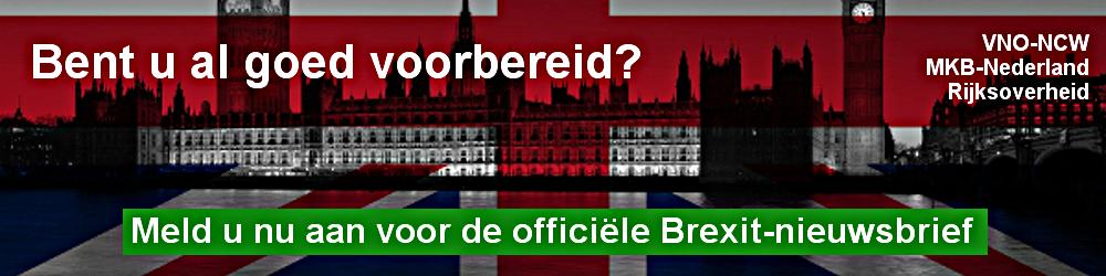 Brexit-nieuwsbrief van Rijksoverheid, VNO-NCW en MKB-Nederland