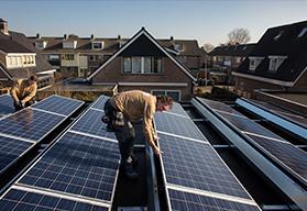 zonnepanelen voor zonne-energie