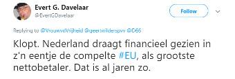 Hoeveel kost de EU ons nou echt?