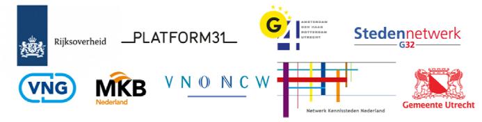 Logo's partijen De Dag van Stad
