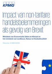 KPMG-rapport over gevolgen Brexit