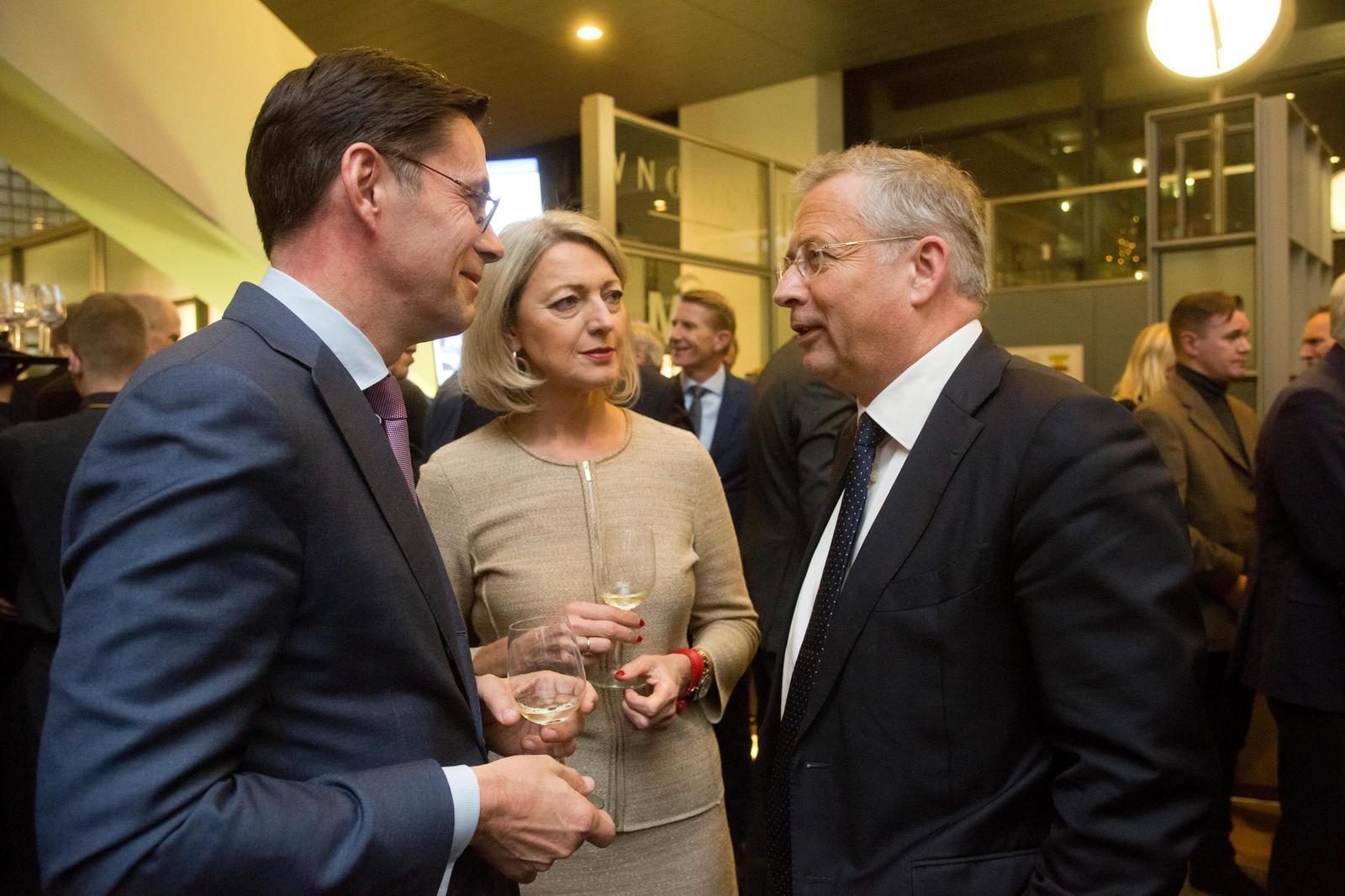 Cees Oudshoorn (algemeen directeur VNO-NCW en MKB-Nederland), Ineke Dezentjé Hamming-Bluemink (voorzitter FME) en Paul de Krom (ceo TNO).
