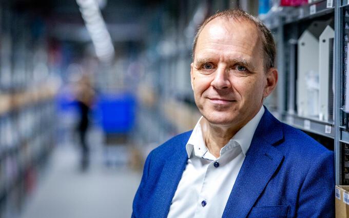 Bol.com-ceo Huub Vermeulen: 'Wij hebben vanaf de eerste week van de coronacrisis al de vraag gesteld wat dit nu betekent voor ons als bedrijf. Wat heeft Nederland nodig?'