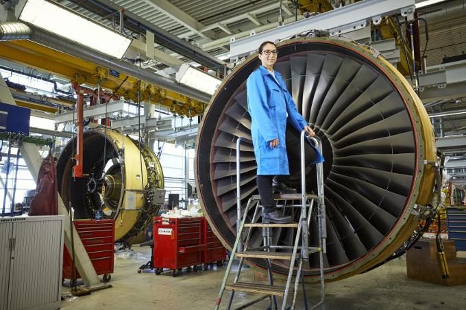 Bij Engine Services van KLM kan Aiir Innovation testen
