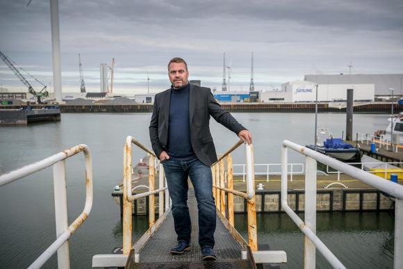 Ron Mulder van Sealane is overtuigd: die veerdienst met Schotland 'het gaat gewoon gebeuren'