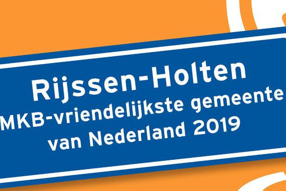 Rijssen-Holten mkb-vriendelijkste gemeente, Almere mkb-vriendelijkste stad van Nederland
