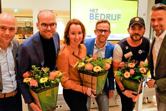 Drie genomineerden voor Het Vitaalste Bedrijf van Nederland bekend