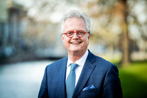 Deltacommissaris Peter Glas