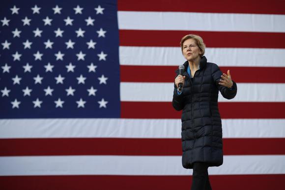 Deze presidentskandidaat wil de macht van Big Tech Companies breken