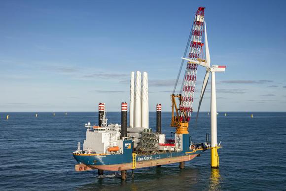 Dankzij EKV zijn wereldwijd nieuwe off-shore wind-op-zee projecten mogelijk.