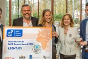 Leentjes gekleurde poedersuiker winnaar MKB Export Award 2018