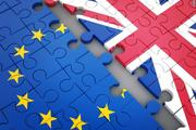 Abstract disintegration Euro union and Britain