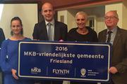 Tytsjerksteradiel mkb-vriendelijkste gemeente van Fryslân