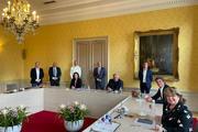 ondernemersdelegatie aan informatietafel