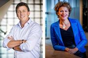 Jacco Vonhof en Ingrid Thijssen: 'Laat medewerkers zoveel mogelijk thuiswerken'