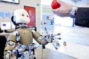 Robot exhibition at the European Parliament
