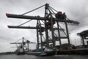 Visit of Siim Kallas, Vice-President of the EC, to the Port of Rotterdam