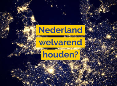 Nederland welvarend houden