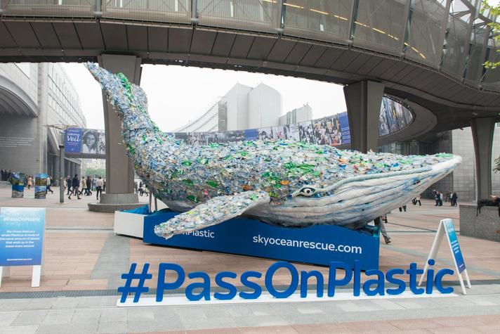 •	Participation of Frans Timmermans, First Vice-President of the EC, and Karmenu Vella, Member of the EC in charge of Environment, Maritime Affairs and Fisheries, at the Sky launch event of #PassOnPlastic Pledge