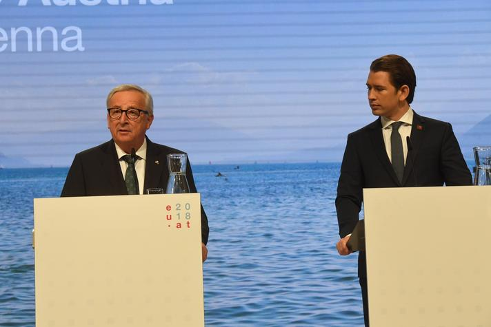 Visit by Jean-Claude Juncker, President of the EC, and Members of the EC, to Austria