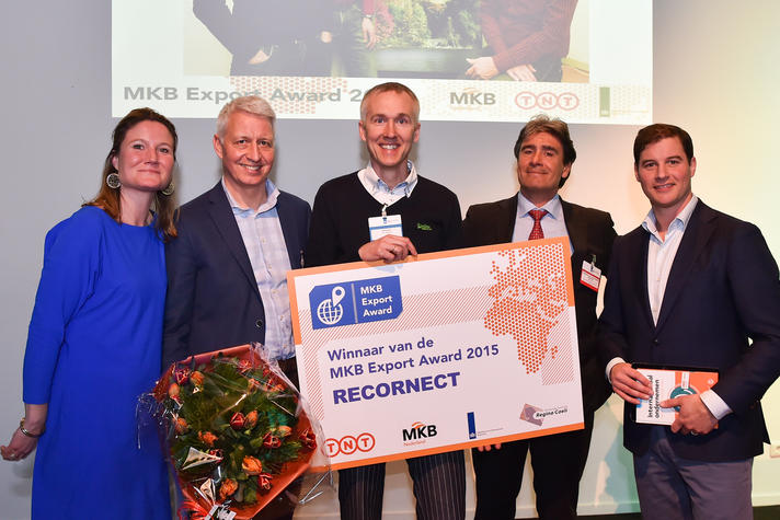 Recornect wint derde MKB Export Award