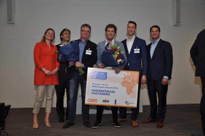 Hoenderdaal Fasteners wint MKB Export Award