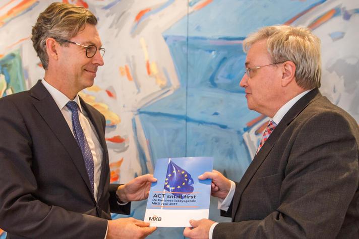 MKB-Nederland pleit ook in Europa voor MKB-Toets op regels