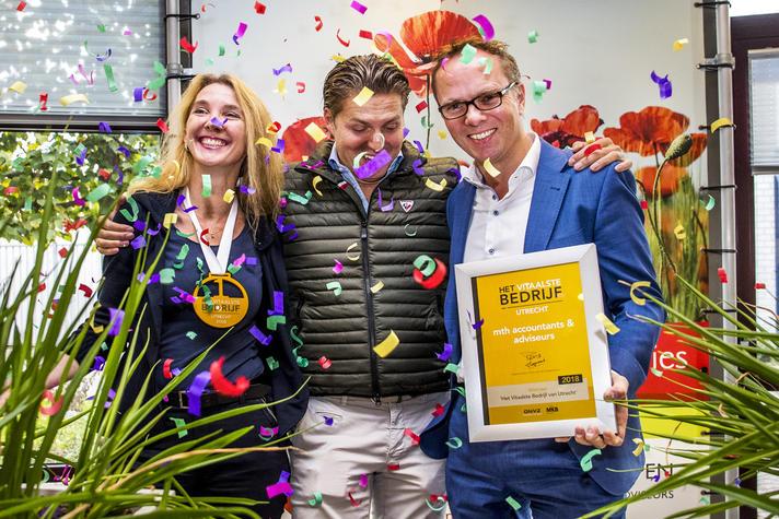 Mth is Het Vitaalste Bedrijf van Utrecht