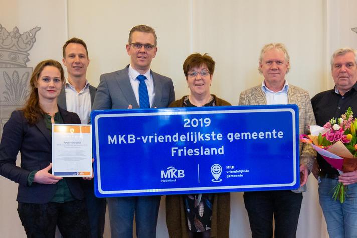 Tytsjerksteradiel winnaar MKB-Vriendelijkste gemeente provincie Fryslân