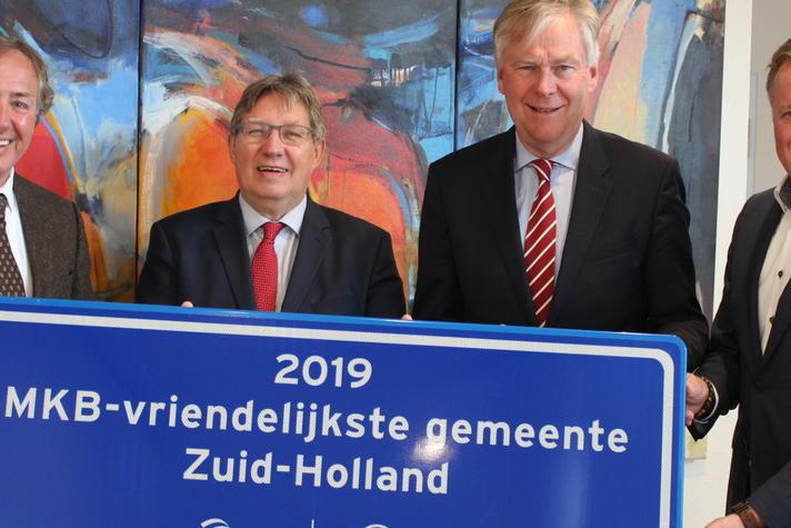 Brielle winnaar MKB-Vriendelijkste gemeente provincie Zuid-Holland