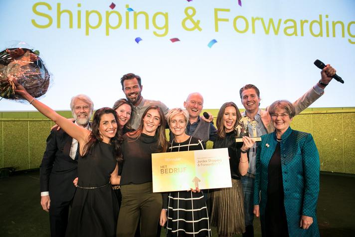 Jordex uitgeroepen tot Vitaalste Bedrijf van Nederland