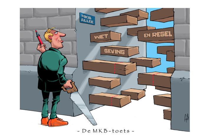 MKB-Nederland: 'Maak haast met pilots MKB-toets'