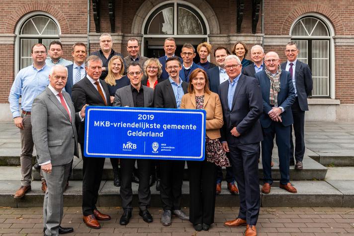 Barnveld opnieuw winnaar MKB-Vriendelijkste gemeente Gelderland