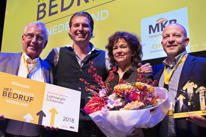 Lightweight Containers uitgeroepen tot Het Vitaalste Bedrijf van Nederland