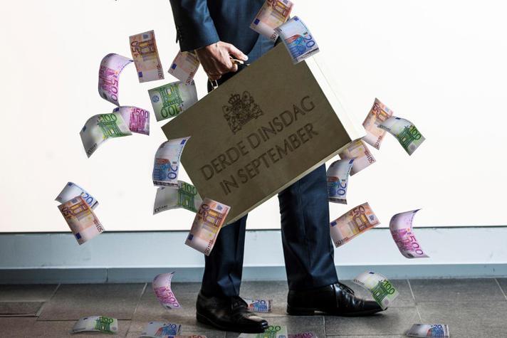 Geld moet rollen volgens het kabinet. Gaat Wopke Hoekstra met miljarden strooien?