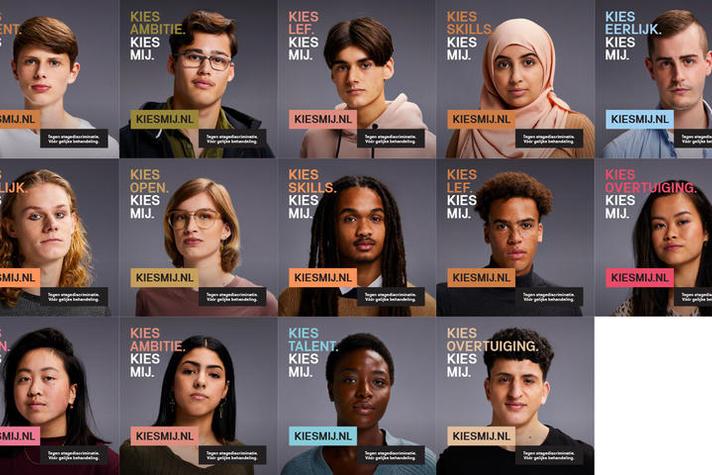 Campagne #KIESMIJ tegen stagediscriminatie van start