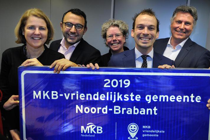 Eindhoven MKB-Vriendelijkste gemeente Noord-Brabant