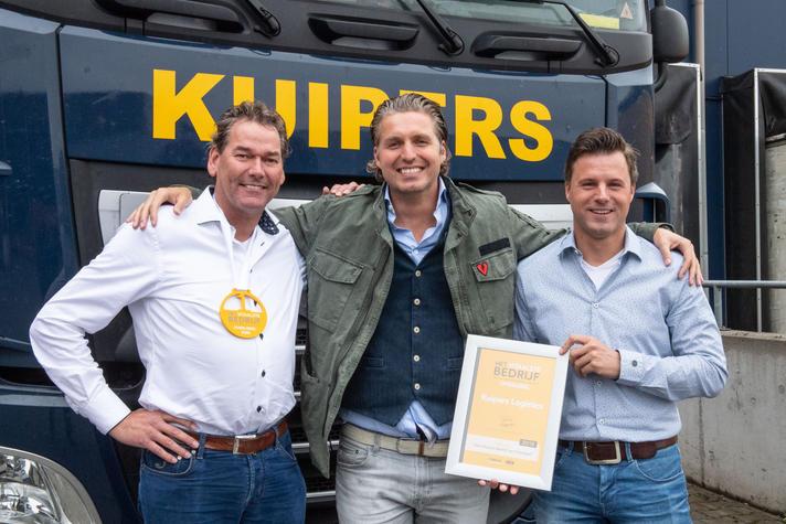 Kuipers Logistics is Het Vitaalste Bedrijf van Overijssel