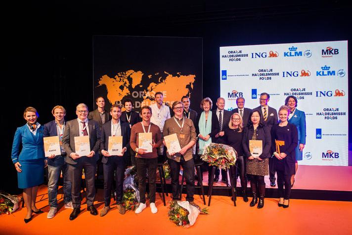 Winnaars Oranje Handelsmissiefonds 2017 bekend