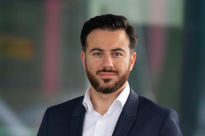 Yousef Yousef, directeur van LG Sonic