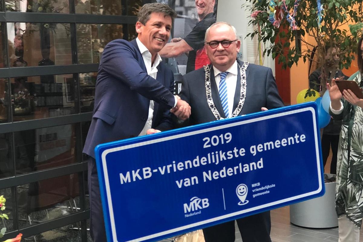 Rijssen-Holten de mkb-vriendelijkste gemeente van Nederland 2018