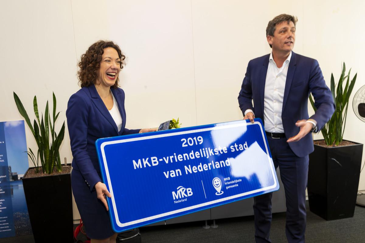 Almere mkb-vriendelijkste stad 2018